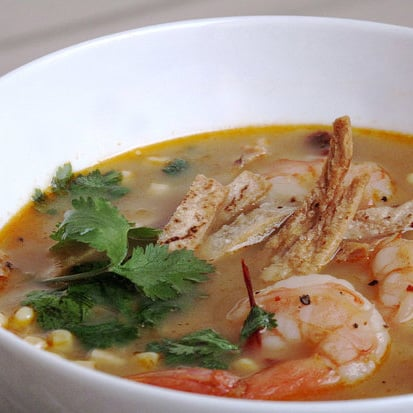 Photo Gallery: Shrimp and Tortilla Soup