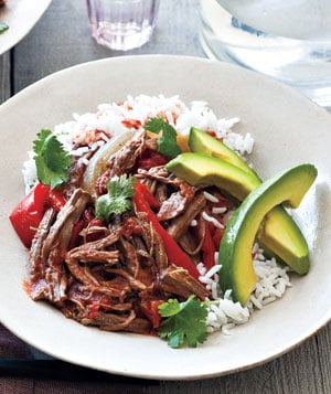 Slow Cooker Recipe For Cuban Beef and Peppers