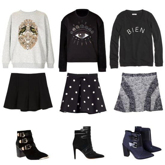 Sweatshirt Outfits For Fall