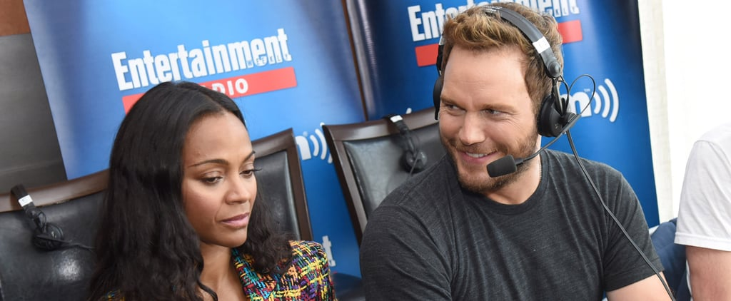Literally Just 14 Pictures of Chris Pratt Being Cute at Comic-Con