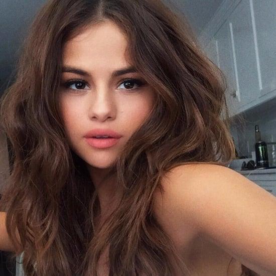 Selena Gomez Wears Nude Lipstick