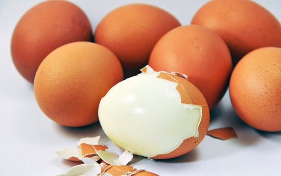 The Best Way to Peel a Hard-boiled Egg