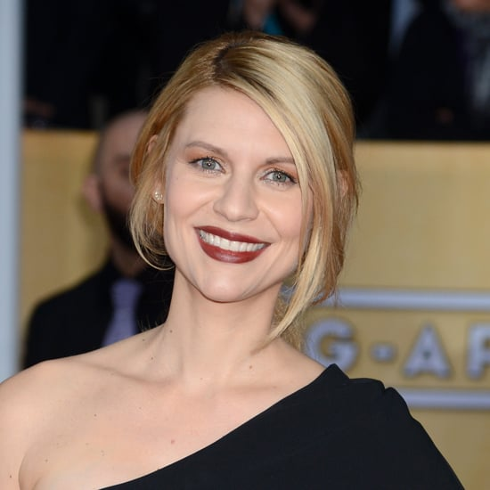 Claire Danes: SAG Awards Hair and Makeup 2013