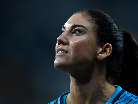 Hope Solo Suspended for Calling Sweden 'Cowards' After Losing at the Olympics
