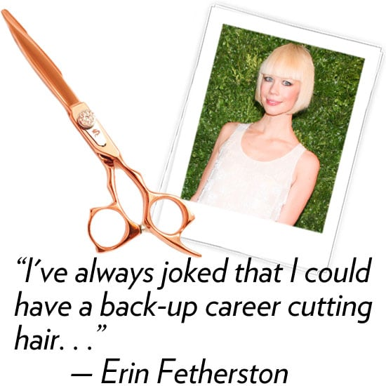Erin Fetherston, designer  Three words that describe your Fall '12 collection: Ethereal, electric, glamorous. What's your hidden talent? I've always joked that I could have a back-up career cutting hair. I've learned from the best! Edward Tricomi (Warren Tricomi Salon) taught me how trim my bangs in  between visits to him at the salon. I've since cut bangs on several of my girlfriends!  What are your three fashion essentials? Erin Fetherston little black dress, YSL tribute pump, and MAC black eyeliner. What's your favorite Winter comfort food and why? I love pureed vegetable soups. They are filling and warm you up on a cold Winter's day.  How are you planning to de-stress and relax after NYFW? I'm going to Hawaii for a long weekend.