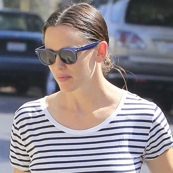 Jennifer Garner at Church in LA July 2016