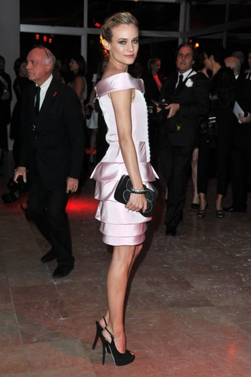 Pictures of Diane Kruger at the 2011 Sidaction AIDS Benefit