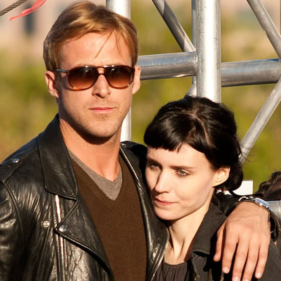 Ryan Gosling and Rooney Mara Hugging Pictures on Austin Lawless Set