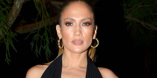 Jennifer Lopez Steals The Star-Studded Show In A Plunging Dress