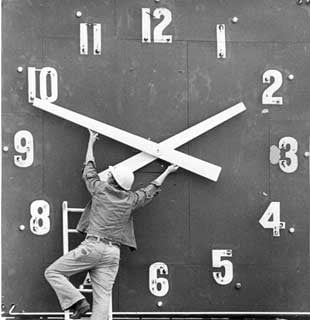 Daylight Savings Time (It May Take Weeks to Adjust)