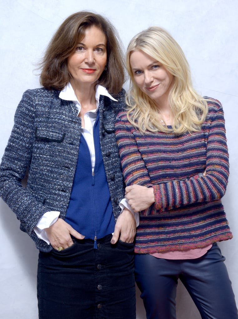 Director Anne Fontaine and Naomi Watts of Two Mothers leaned in close for their shot.