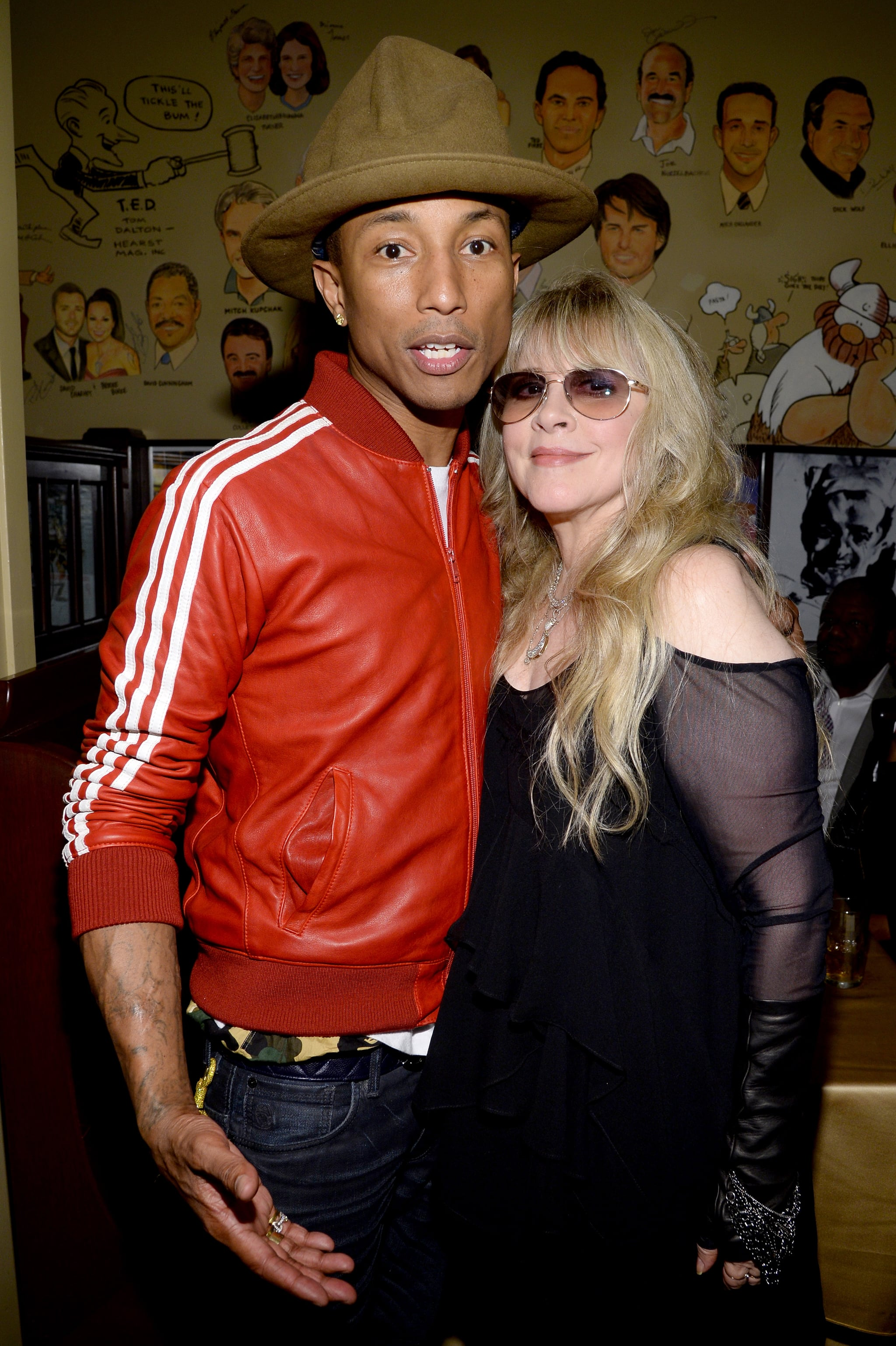 The two got candid with legendary performer Stevie Nicks.