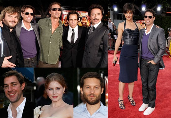 Red Carpet Photos from Tropic Thunder Premiere Including Katie Holmes, Tom Cruise, Ben Stiller, Matthew McConaughey