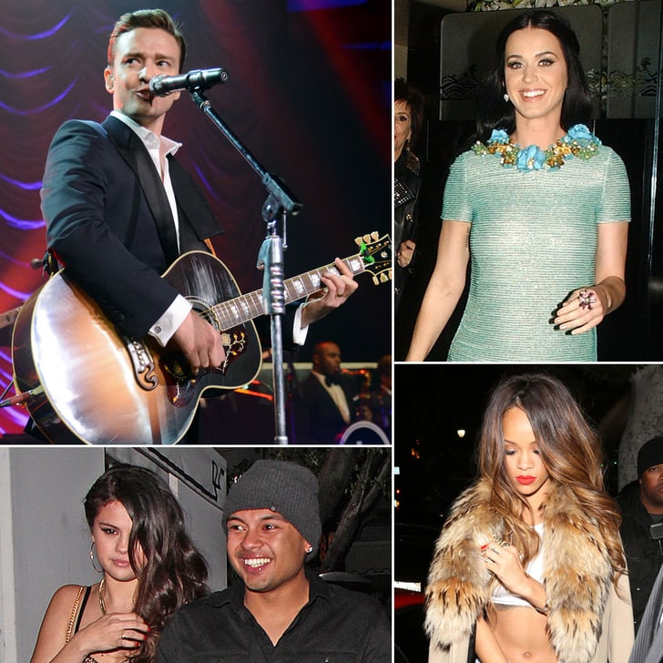 Rihanna, Justin Timberlake, and More Party It Up After the Grammys