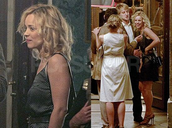 Pictures of Rachel McAdams and Owen Wilson Shooting Midnight in Paris