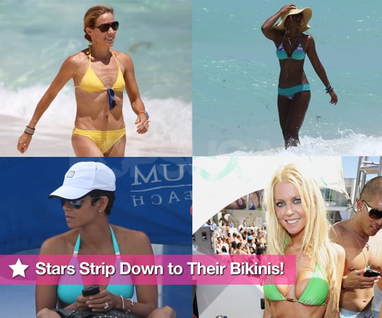 Pictures of Celebs in Bikinis Including Halle Berry, Sheryl Crow, Lady GaGa, Kelly Rowland, Tara Reid