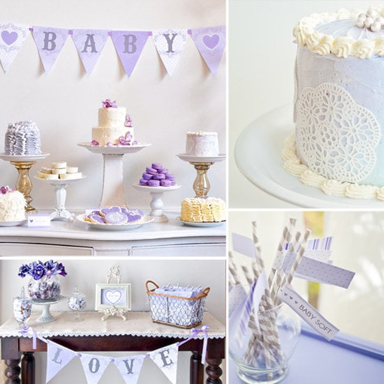 """Baby Showers: A Lovely Lavender """"Baby Love"""" Shower"""