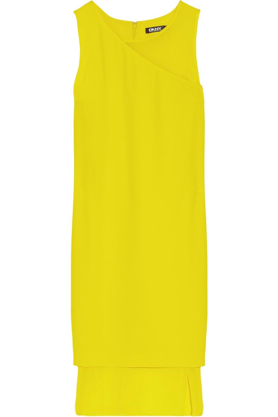 DKNY Yellow Dress