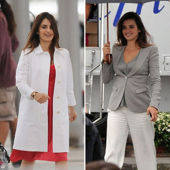 Penelope Cruz Works Through Rain and Shine on Set in Spain