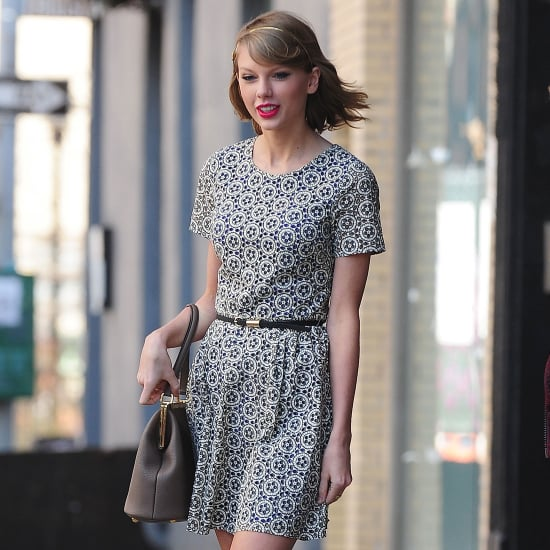 Taylor Swift Printed Dress