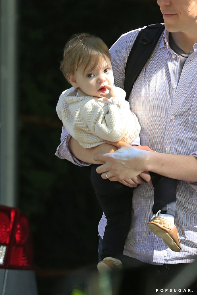 Little baby Olive Kopelman made a surprise appearance with Drew Barrymore.