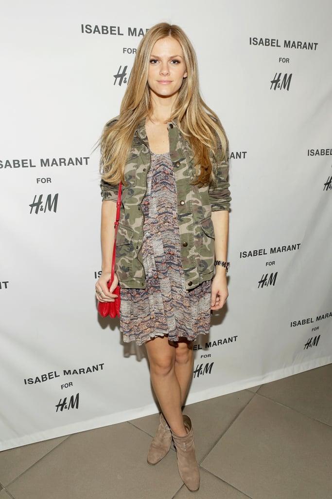 Brooklyn Decker at the H&M Isabel Marant VIP event.