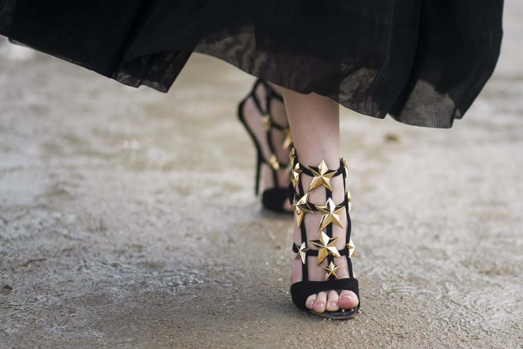 When shoes are the stars of the show.