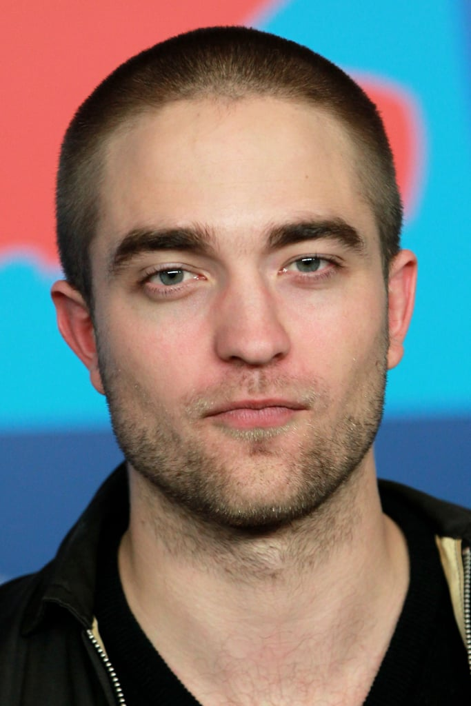 Rob showed off his new hairdo in Germany.