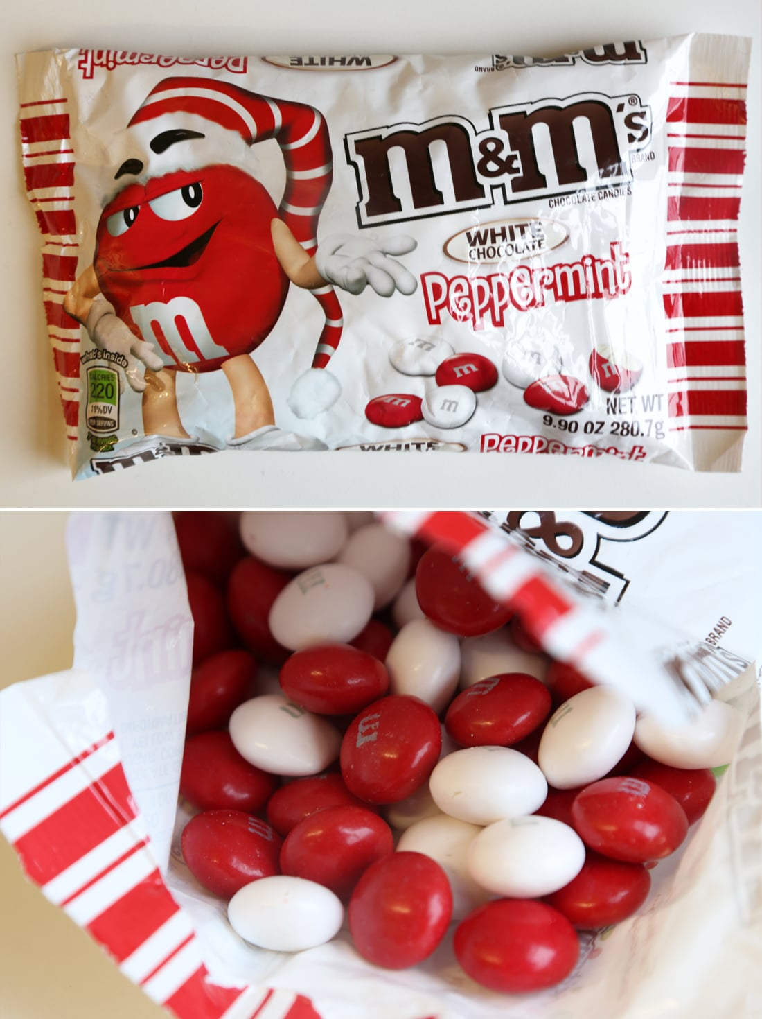 M&M's White Chocolate Peppermint