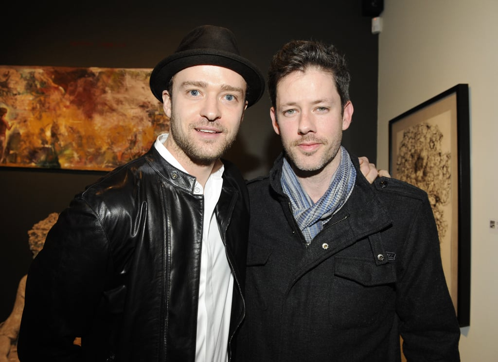 Justin Timberlake and Darren Legallo attended the Nothing You Don't Know exhibition in LA.