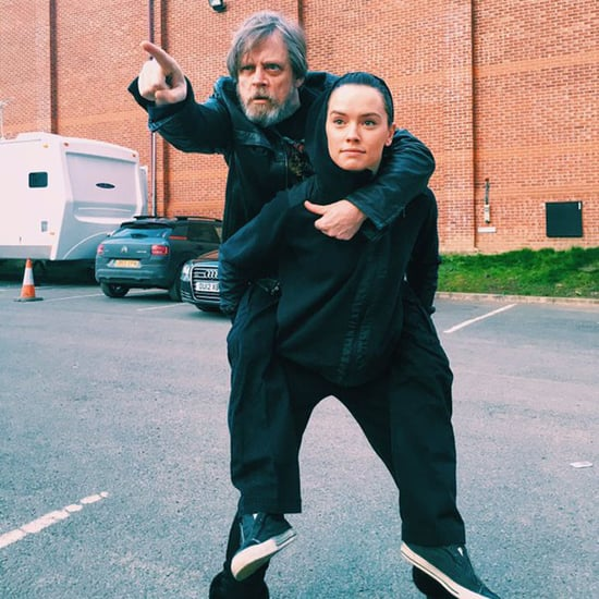 Mark Hamill Tweets a Star Wars Picture With Daisy Ridley