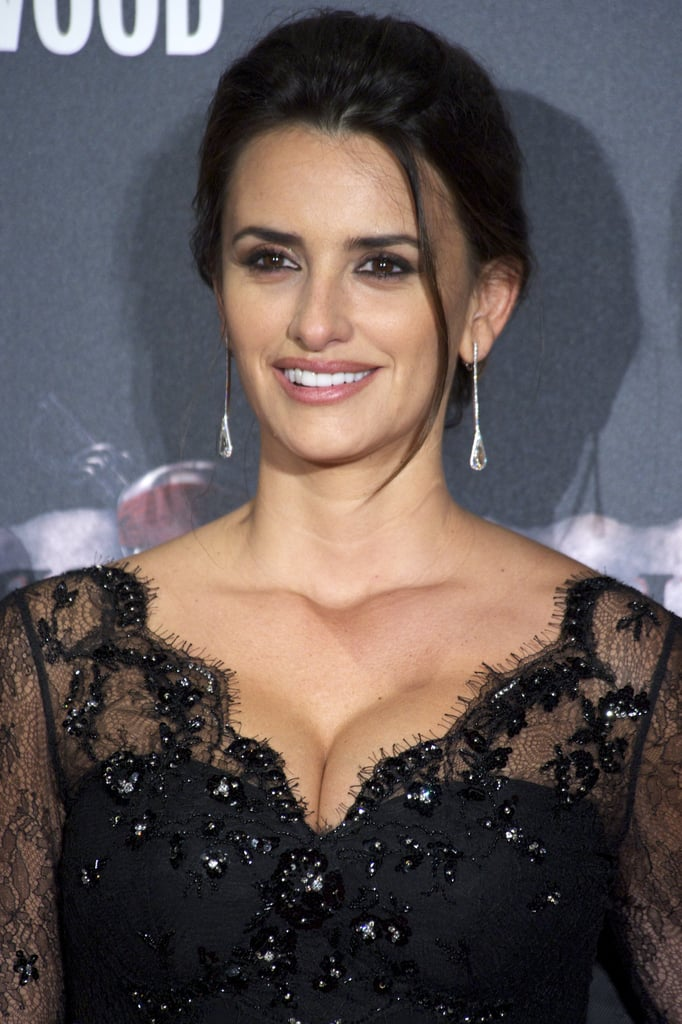 Penelope Cruz Continues Her Pirates Tour of Spain With a Lacy Look