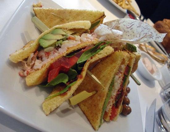 Recipe For Lobster Club Sandwich Inspired by Neiman Marcus   POPSUGAR ...