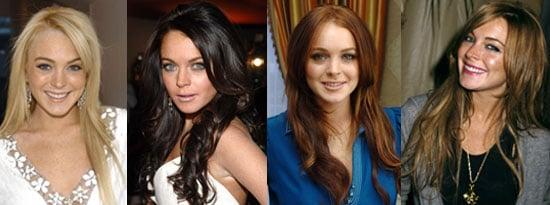 Lindsay Lohan's Hair Color