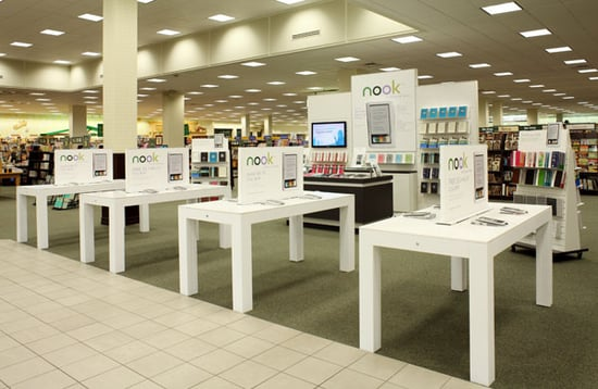 Barnes & Noble In-Store Nook Boutiques