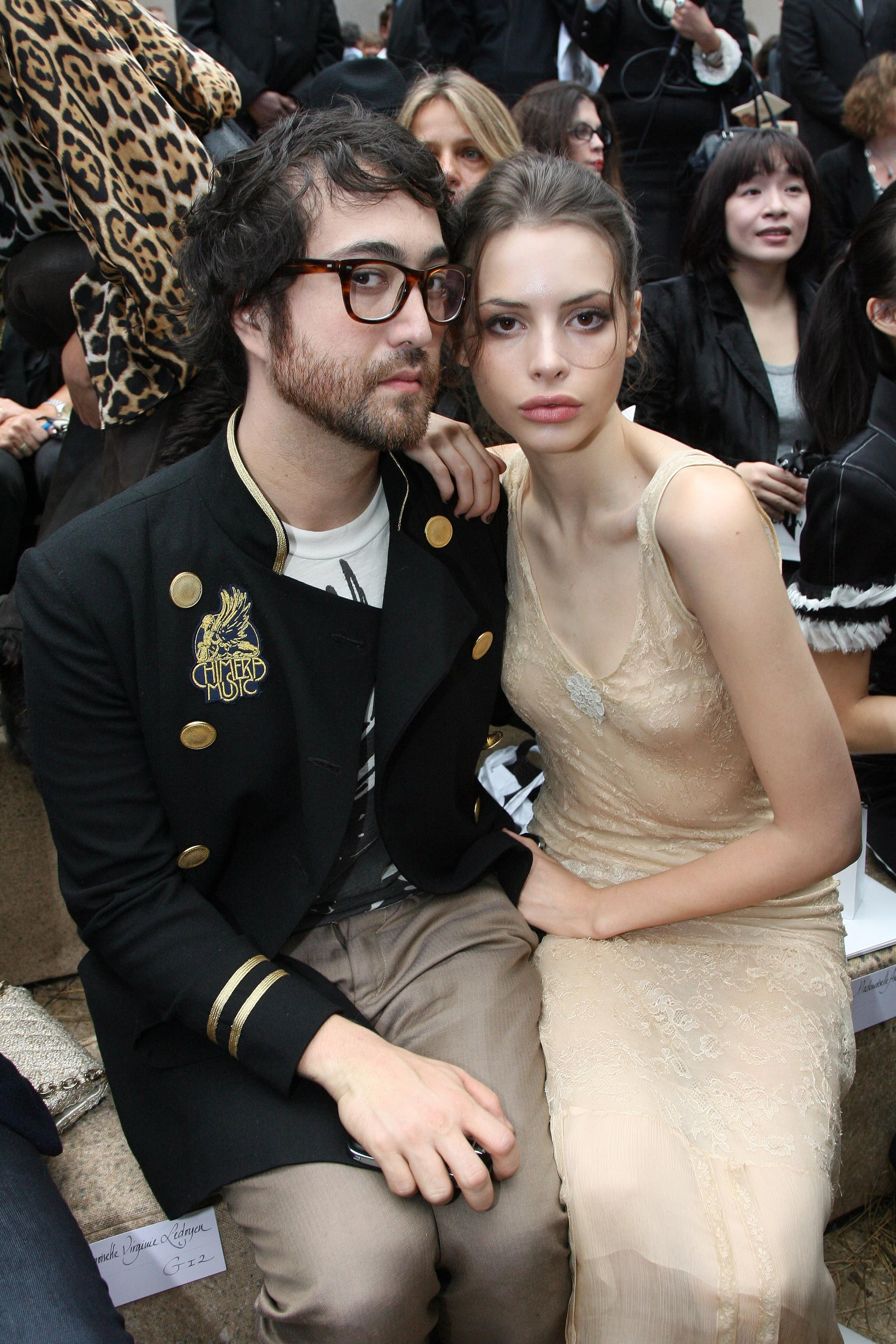 Sean Lennon and Charlotte Kemp Muhl have been dating since they met at Coachella in 2005. They've participated in both music and fashion events together: here, they're pictured in the front row of Chanel's Spring 2010 runway show.