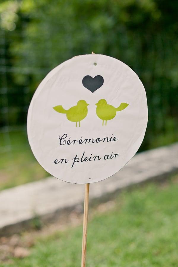French Signage