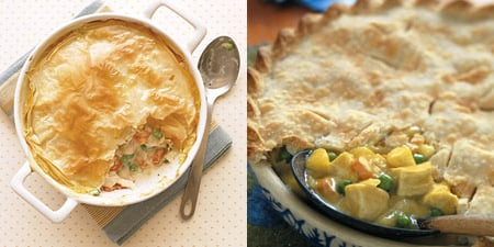 Chicken Pot Pie Two Ways - Beginner & Expert