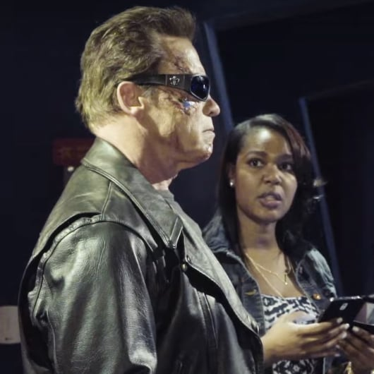 Arnold Schwarzenegger Prank Video at Madame Tussauds