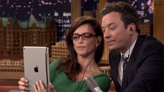 Penelope Cruz Styles Jimmy Fallon's Hair, Plays Dubsmash on 'Tonight Show'