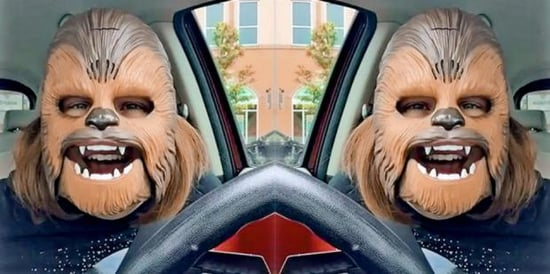 Only Fall For Someone Who Makes You As Happy As A Chewbacca Mask