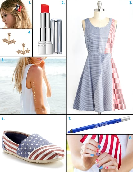 Your July 4th Style and Beauty Roundup: Shop Editors' Red, White, and Blue Picks!