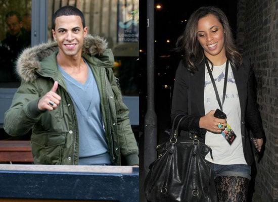 Photos of JLS Marvin Humes and Girlfriend The Saturdays Rochelle Wiseman While Aston Merrygold Denies He Has a Girlfriend