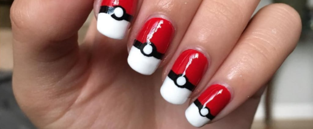 Take a Break From Playing Pokémon Go to Re-Create This Nail Art