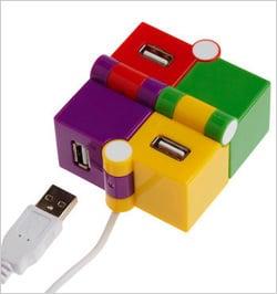 Colorful Cube USB Hub