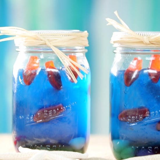 Edible Mason Jar Aquariums