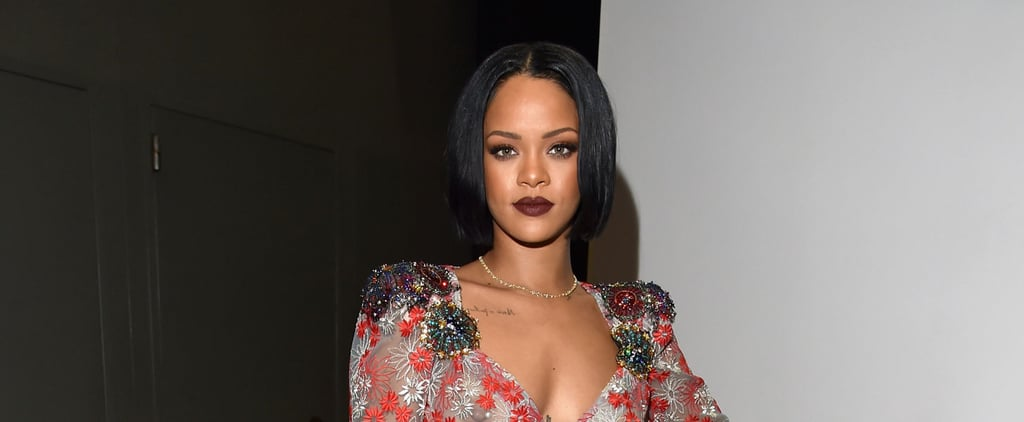 Rihanna Goes Totally Sheer and Wears £700,000 Worth of Diamonds