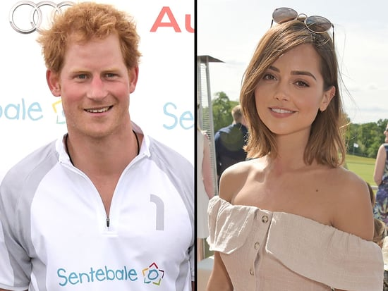 Prince Harry Gets Touchy-Feely with Doctor Who Actress Jenna Coleman