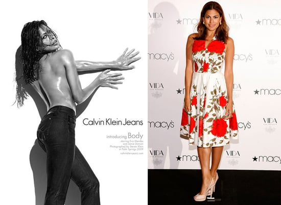 Which Eva Mendes Do You Prefer, Sexy or Ladylike?