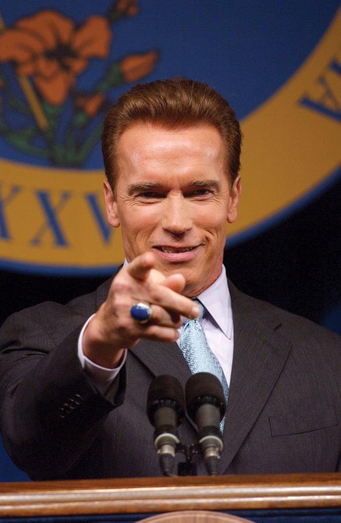 """Arnold Schwarzenegger earned the nickname """"Governator."""""""